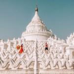 Mandalay valkoinen temppeli