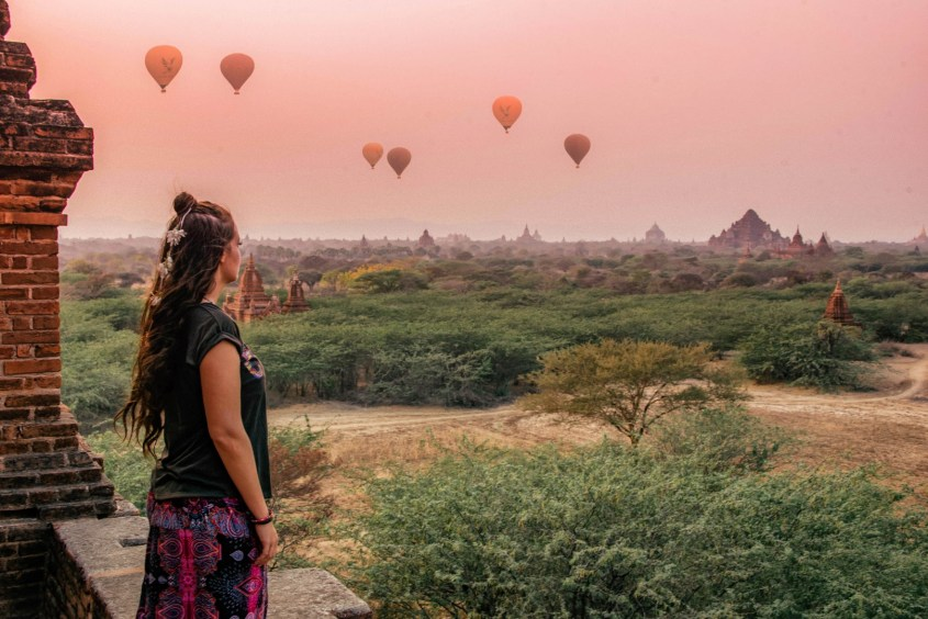 Bagan auringonnousu
