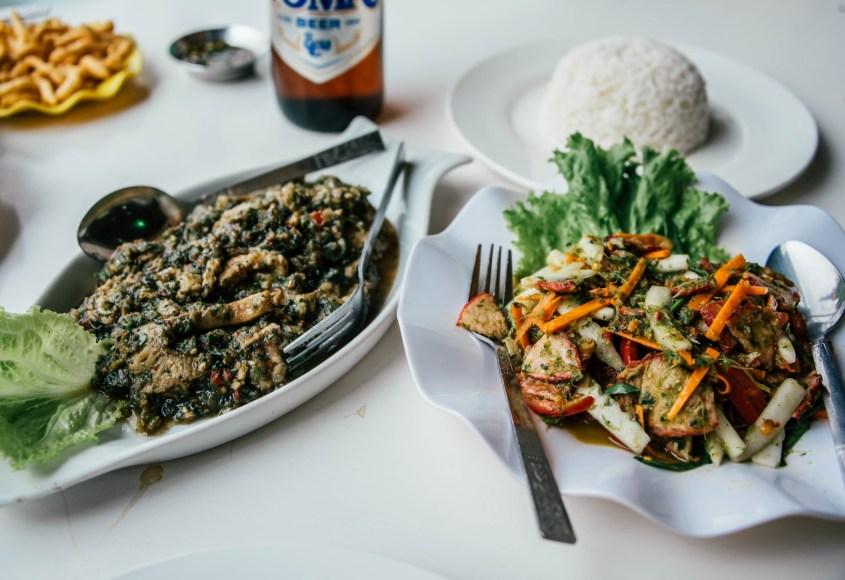 Myanmarilainen ruoka | Meren herkkuja