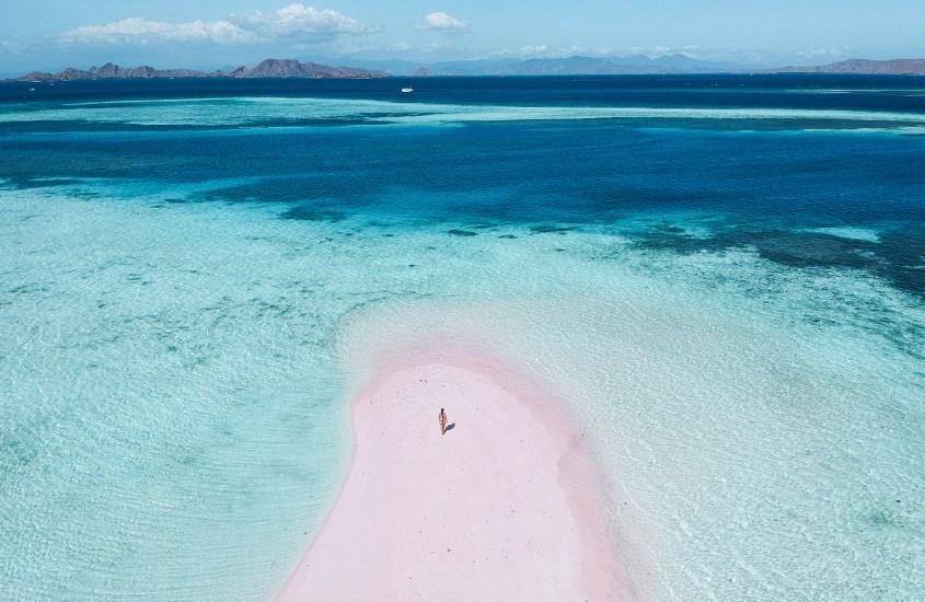 Komodon ihmeellinen saaristo Indonesiassa