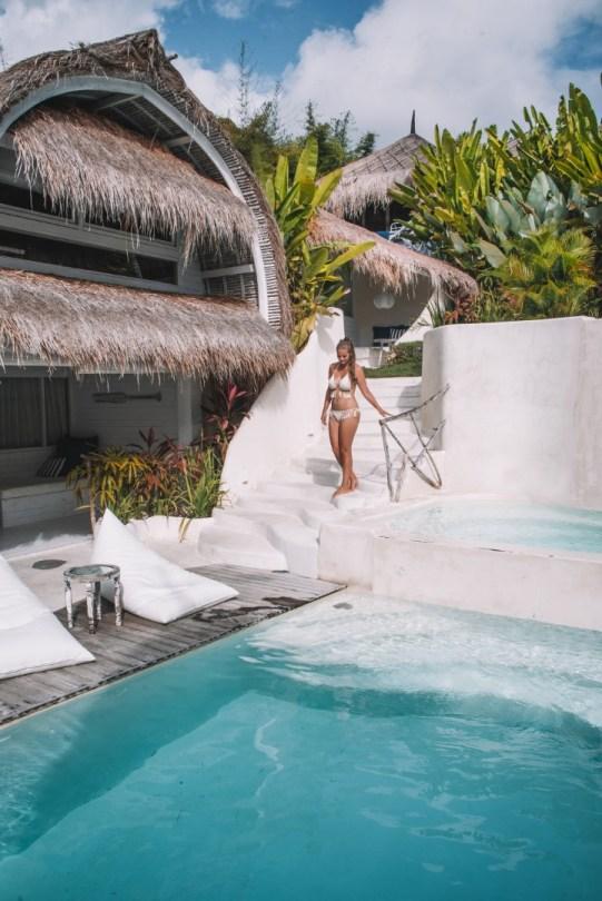 Bali majoitus uima-allas