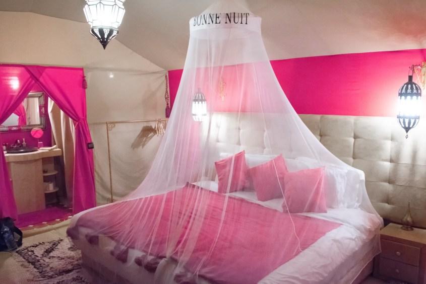 glamping-teltta marokossa