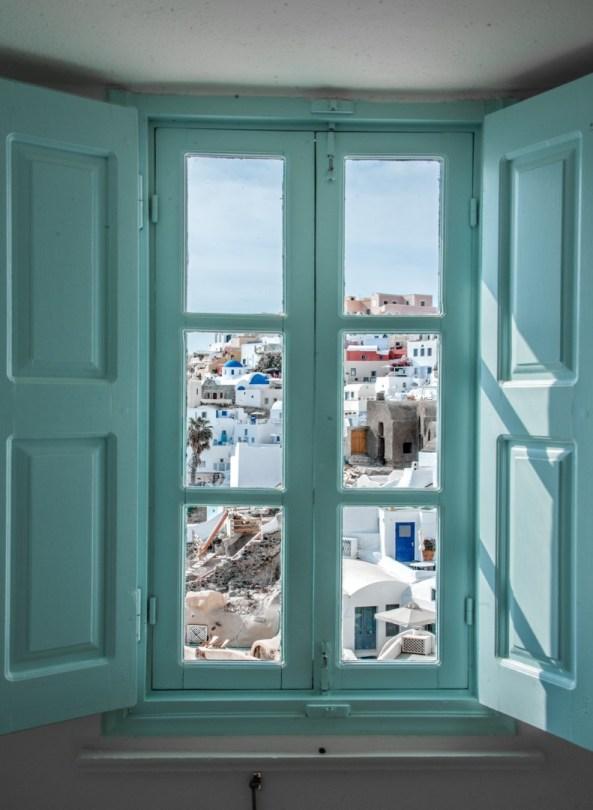 Santorini majoitus