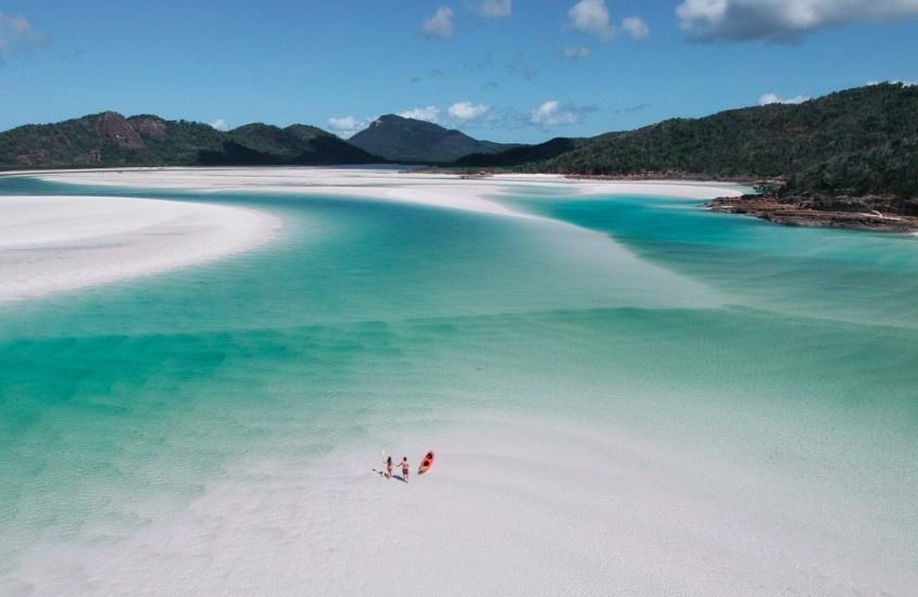 Unenomainen Whitsundays ja Australian paras ranta