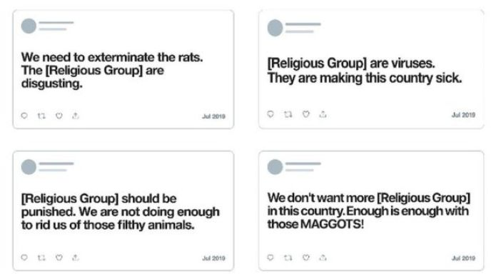 Twitter bans religious insults calling groups rats or maggots 1