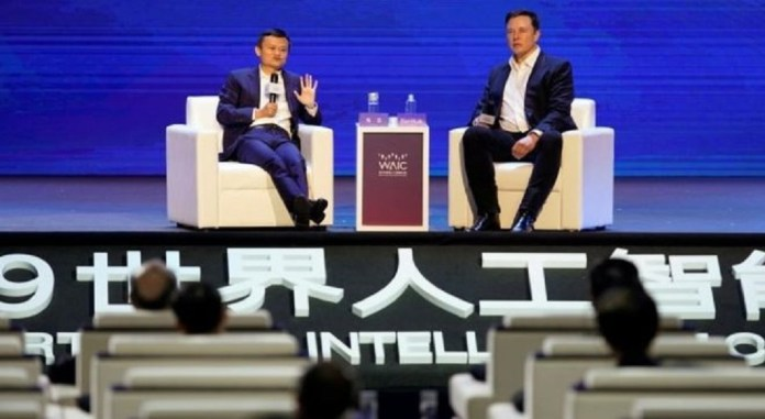 Elon Musk and Jack Ma disagree about AI's threat - image  on https://muvison.com