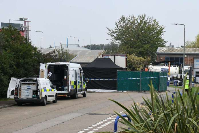 39 people found dead in truck container in southeast England 2