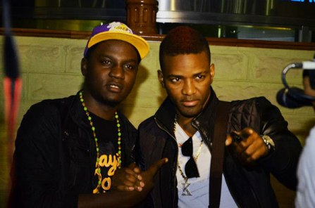 Chilling with Konshens
