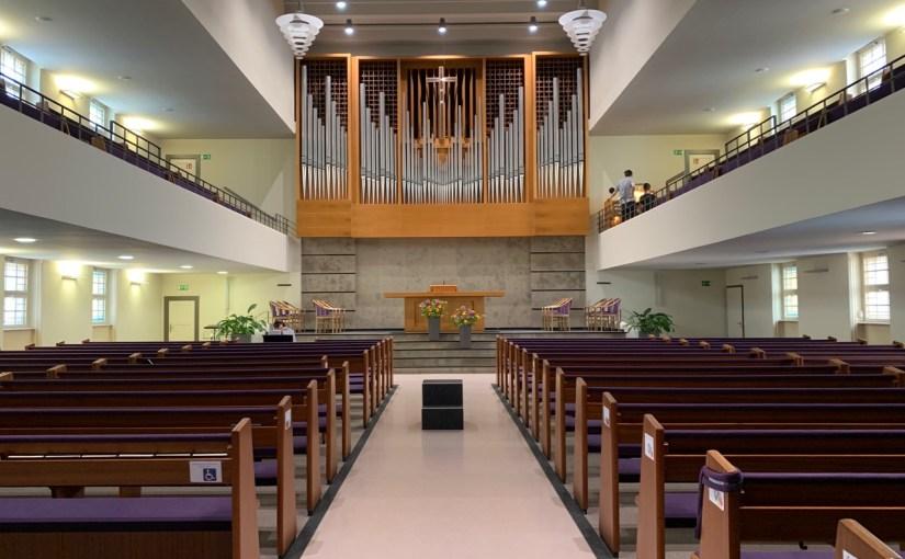 Orgelspiel in der Dunckerstraße