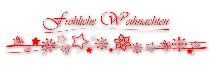 weihnachtsleiste