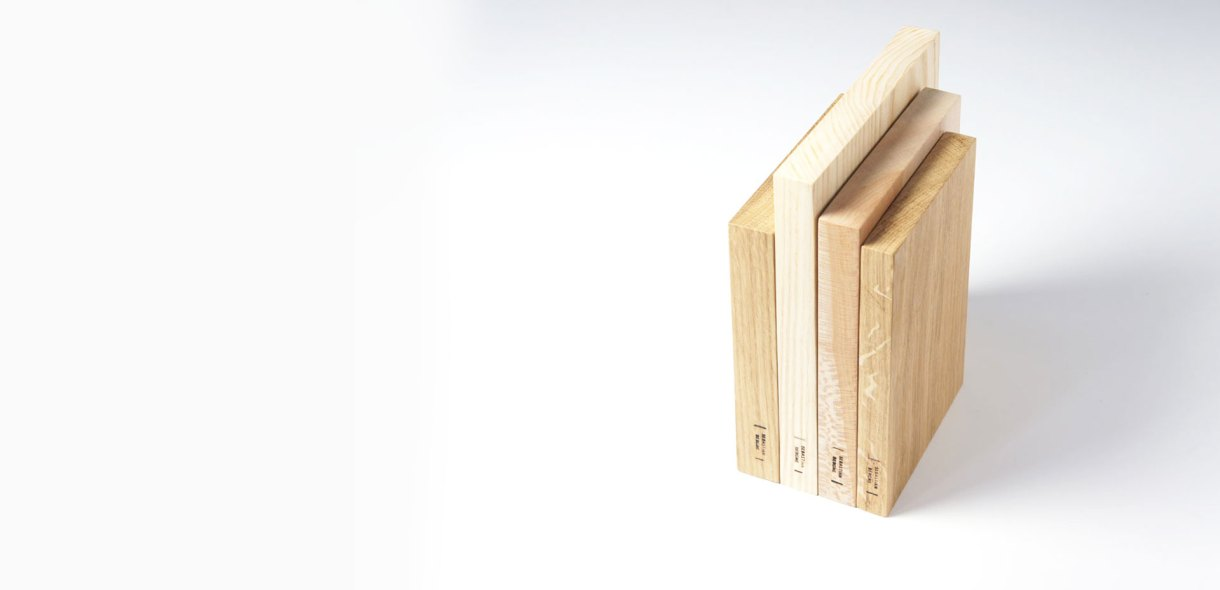 wooden book boards