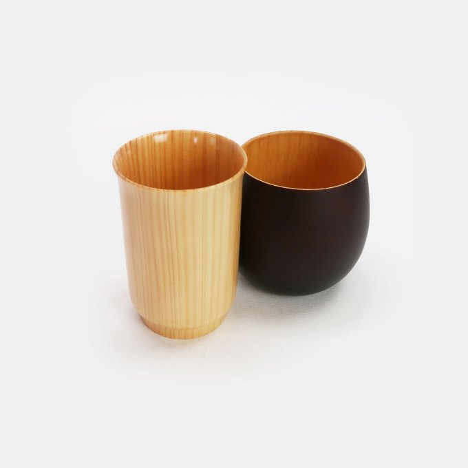 Japanese Cypress Cup-sake-wooden-cup