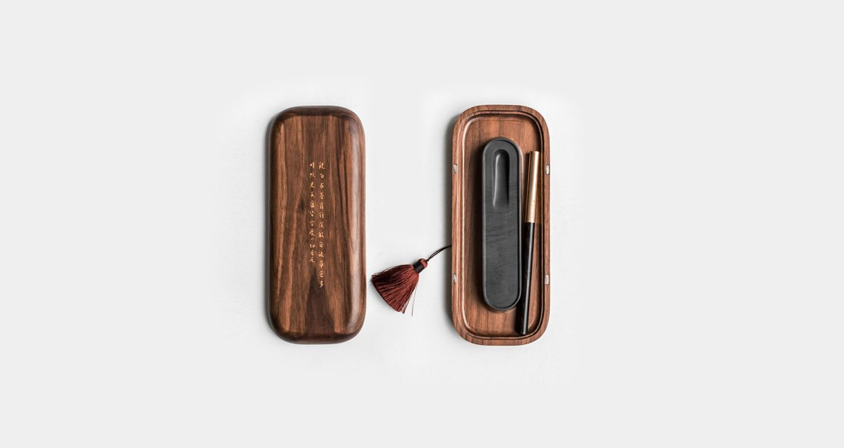 wood-four-treasures-walnut-set