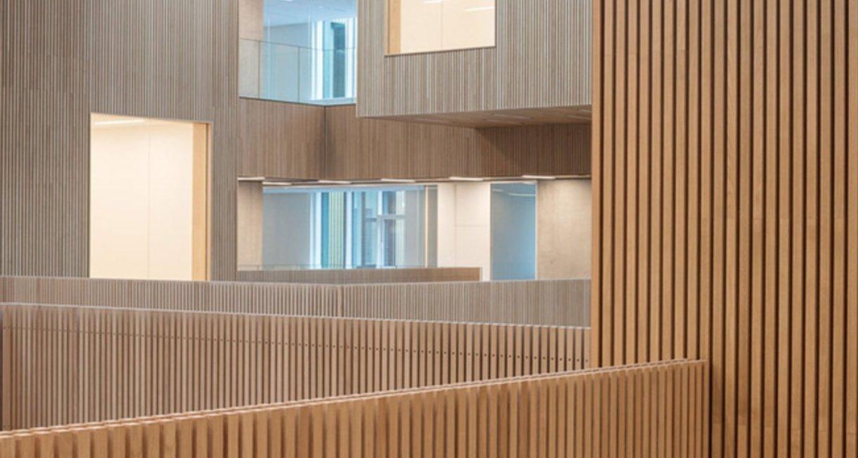 Life-Science-Bioengineering-oak-wood-building-windows