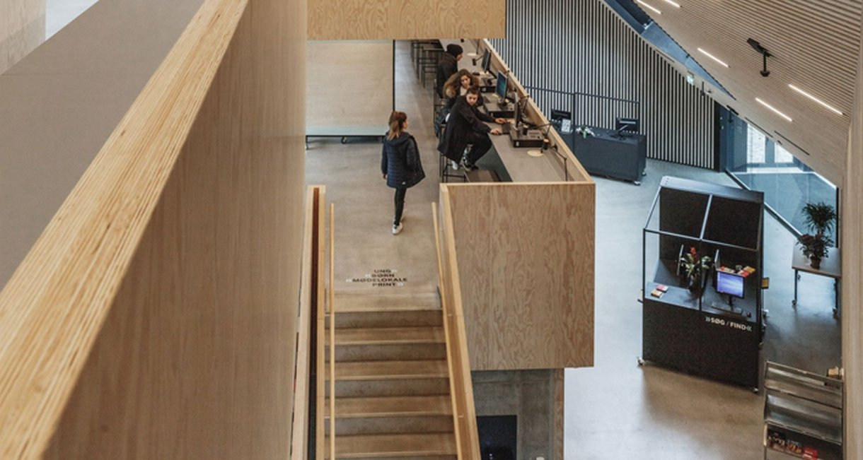 Tingbjerg-Library-Culture-House-stairs
