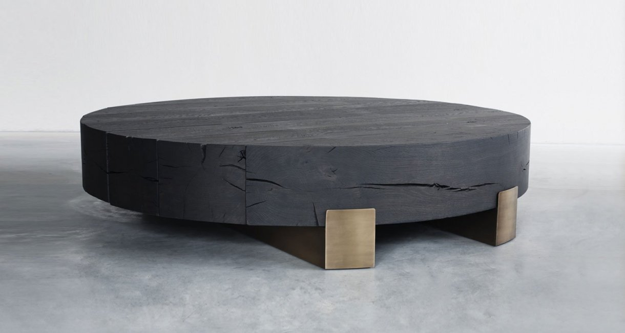 Round Coffee Table Wood.Beam Limited Round Coffee Table Mu Wooden Design Blog