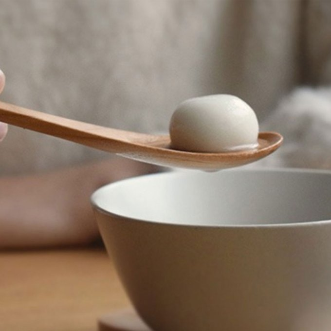 Wooden-Leaf-Spoon-one-tangyuan