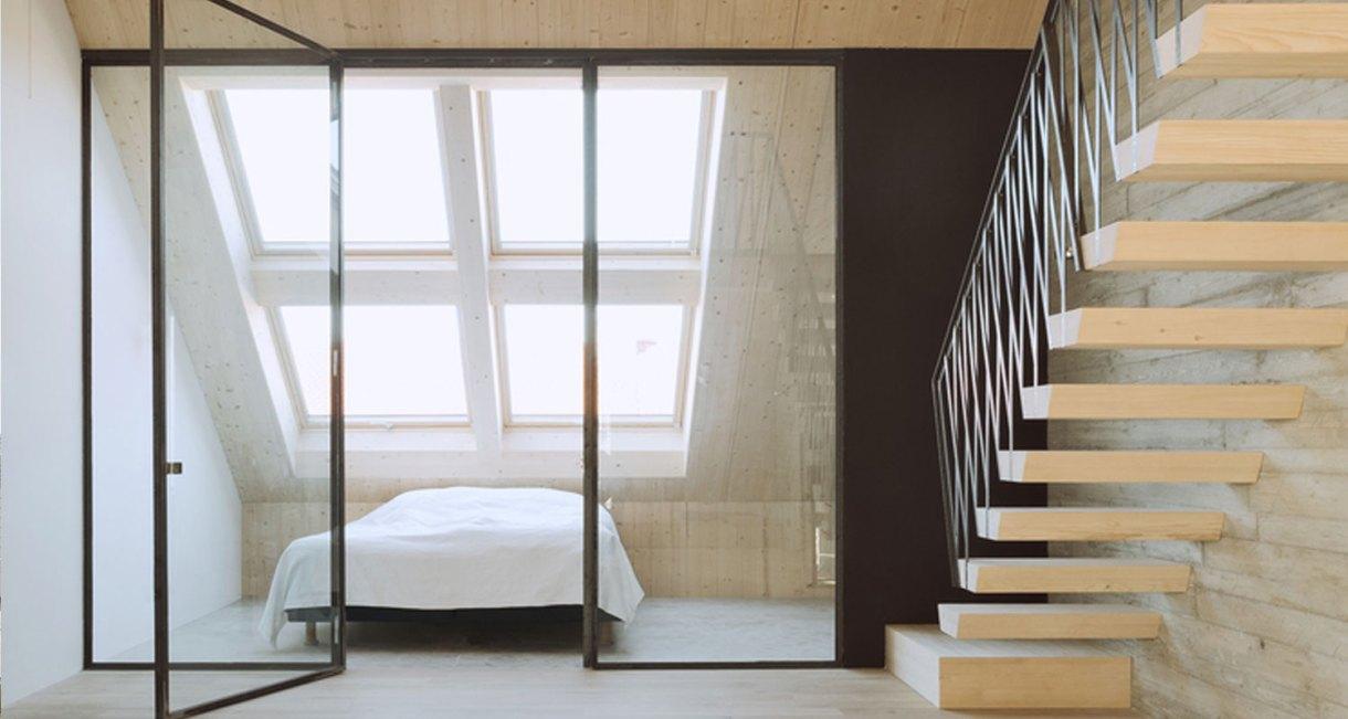 Roof-Extension-Maxvorstadt-Pool-Leber-Architekten-wooden-interior-3
