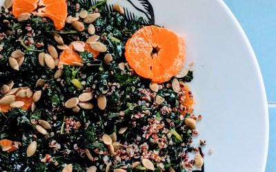 The Best Damn Kale Salad