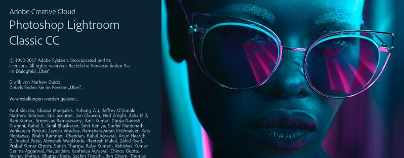 Lightroom Classic CC Oktober 2017 Release - Die Neuerungen