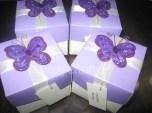 Tarjeta-caja mariposa