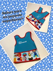Babero adaptable orignal superhéroes