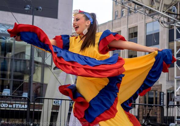 Traje Cumbia Colombia Muyska