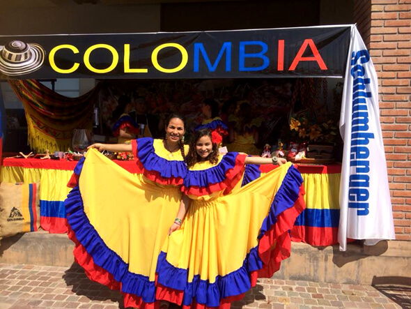Cumbia Colombia Amarillo Buenos Aires Argentina Muyska
