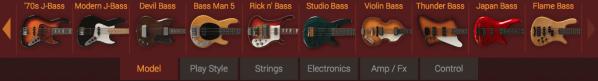 music technology - MODO Bass models