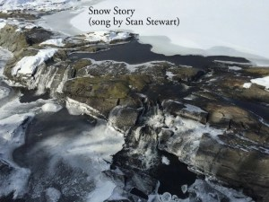 Snow Story Waterfall