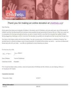 Donation 2017/04/10