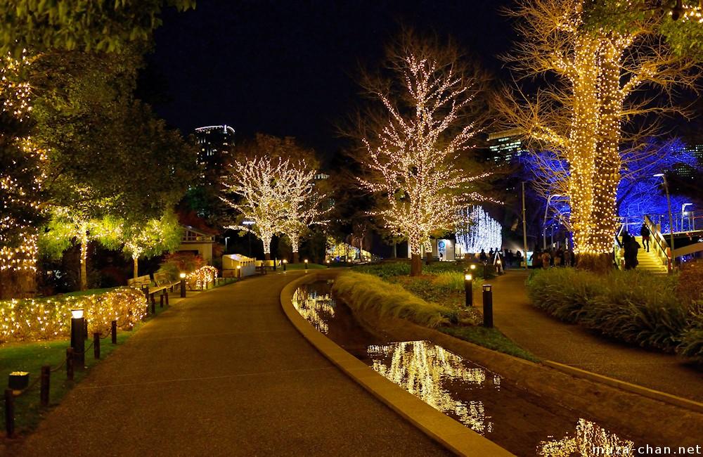 Tokyo Midtown Christmas Lights