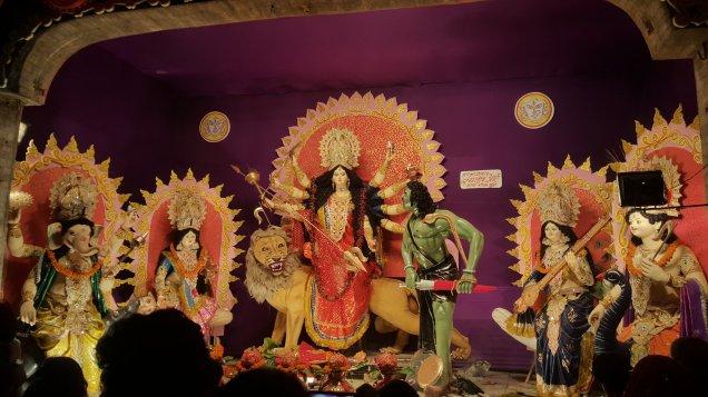 Durga Puja Chhata Chowk Muzaffarpur