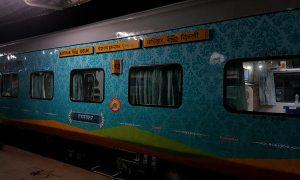 Humsafar Train from Katihar to Delhi via Muzaffarpur 1