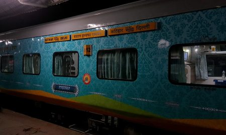 Humsafar Train from Katihar to Delhi via Muzaffarpur 1