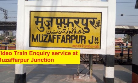 Muzaffarpur JUnction Train Enquiry system