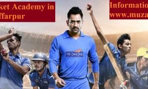 MS Dhoni Cricket Academyin Muzaffarpur BRANd Ambassador