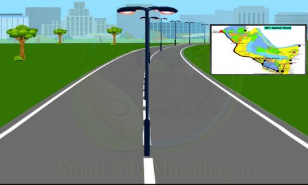 Muzafarpur Smart City Spinal Road of Muzaffarpur