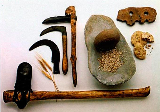 Рани земјоделски алатки