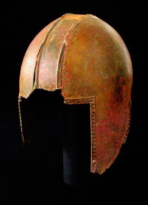 Борбен шлем од бронза; Прогон-Букри, Кременица
