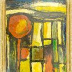 "Artistic painting ""Landscape""- contemporary art, author Borislav Traikovski, Bitola"