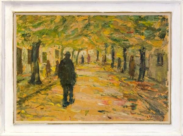 """Уметничка слика –""""Есен""""- современа уметност, автор Димитар Пандилов"""