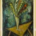 "Art Painting ""Flowers"" – Contemporary Art, by Kosta Hadzi Antonovski"