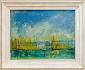 """Уметничка слика """" Пејзаж""""- современа уметност, автор Перо Спироски"""