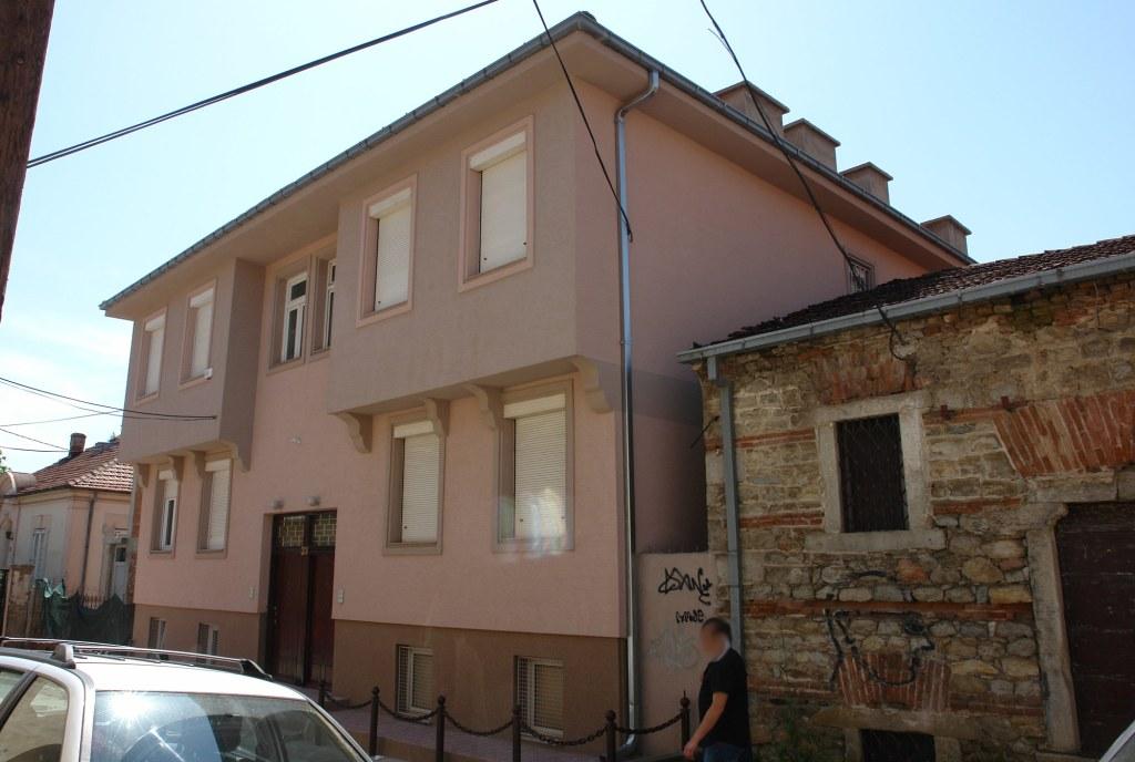 Традиционален објект на улица Никола Тесла број 33 во Битола