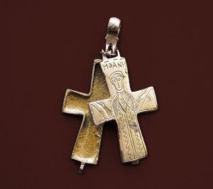 Крст енколпион, XI-XII век