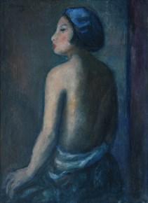 Anastase Demian_Portretul sotiei pictorului