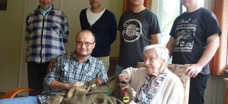 Spotkanie z rodziną płk Józefa Baumanna