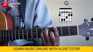 Learn music at home with Online music classes from a live tutor
