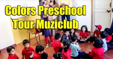 Colors PreSchool Students Visit Muziclub Pimple Saudagar